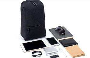 Сумка XIAOMI через плечо mini серая и черная реплика