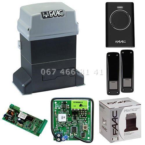 FAAC 746 ER Kit автоматика для откатных ворот комплект