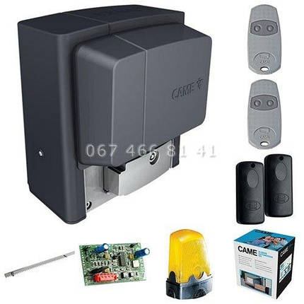 Came BX-400 MAXI Kit автоматика для откатных ворот комплект, фото 2