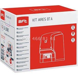 BFT ARES BT A1000 KIT автоматика для откатных ворот комплект, фото 2