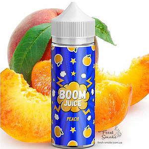 Жидкость для Электронных Сигарет BOOM Juice 120 мл Peach, 0 мг