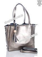 "Сумка женская F270 silver (32х27 серебряный) ""Top bags"" LG-1577"