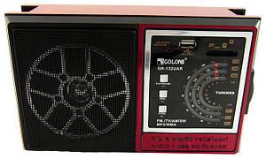 Портативный радиоприемник RX 132 радио колонка MP3/WMA