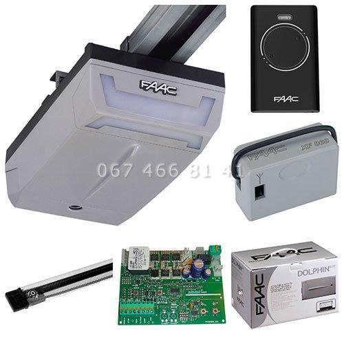 FAAC D1000 Kit 3200 автоматика для секционных ворот комплект