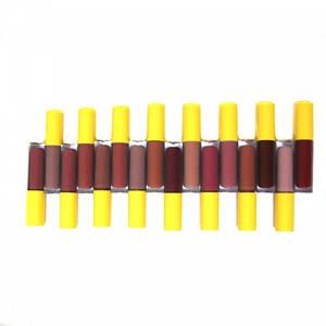 Набор губных помад Huda Beauty Victoria's Secret 58040, 16 цветов блеска для губ