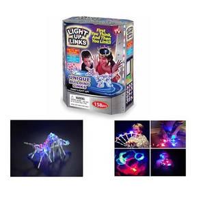 Светящийся конструктор Light Up Links, конструктор для детей Лайт Ап Линкс