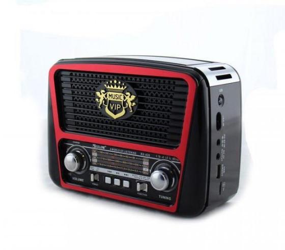 Портативная колонка радиоприемник MP3 Golon RX-435 Red