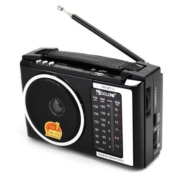 Радио портативная колонка MP3 Golon RX-BT16 Bluetooth