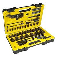 Набор инструментов Stanley TECH3 универсальный в пластиковом кейсе 78 предметов (STHT0-72655)