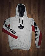 """Свитшот мужской стильный """"Toronto"""" серый"""