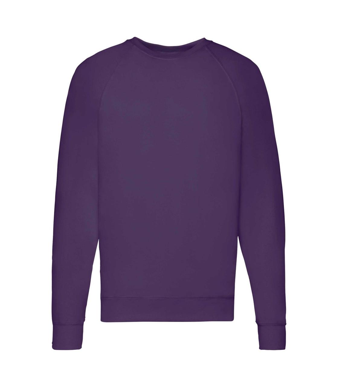 Мужской свитшот легкий фиолетовый 138-РЕ