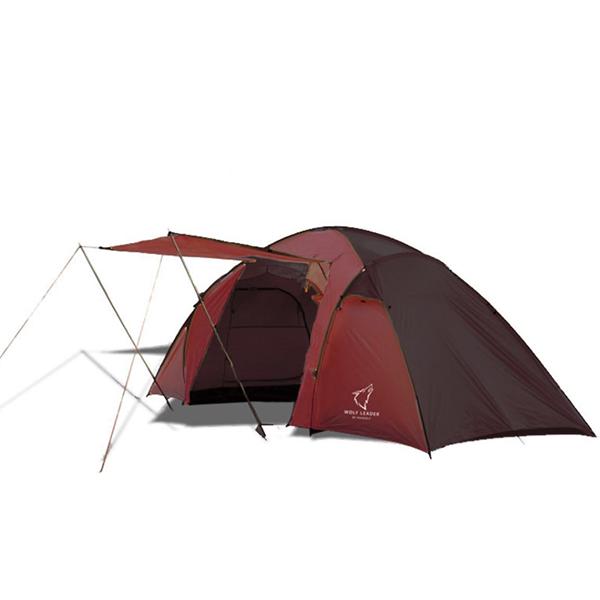 Палатка двухкомнатная Wolf Leader X-Large 4-места Красный
