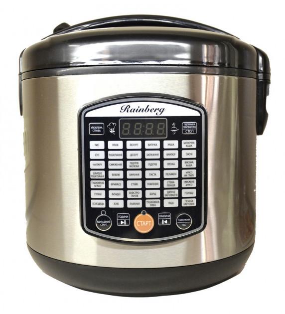 Мультиварка йогуртница Rainberg 1000 Вт 42 программы RB-6208