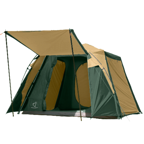 Палатка Wolf Leader 4-места Желтый P009