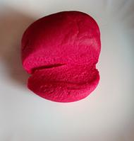 Мастика кондитерская ярко бордовая  лепка обтяжка фасовка  200 г
