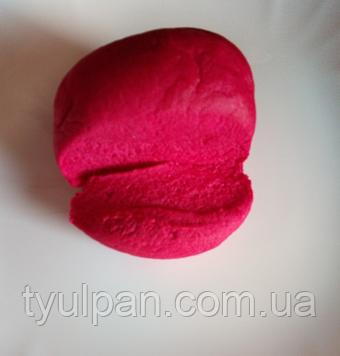 Мастика кондитерская ярко бордовая  лепка обтяжка фасовка  100 г