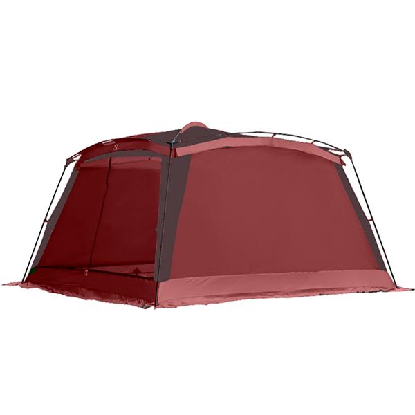 Туристическая палатка-шатер Wolf Leader 5-мест Красный