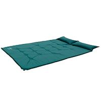 Самонадувающийся спальный коврик Wolf Leader  Зеленый