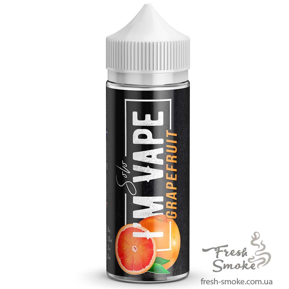 I'М VAPE Solo Grapefruit 120 мл Жидкость (заправка) для вейпа