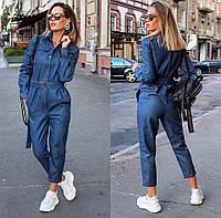 Комбинезон женский джинсовый, фото 1