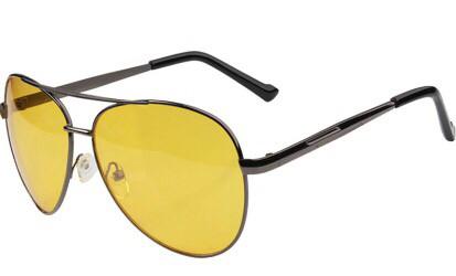 Мужские антибликовые очки (Очки для водителей)