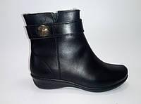 Женские зимние кожаные ботинки ТМ Inblu