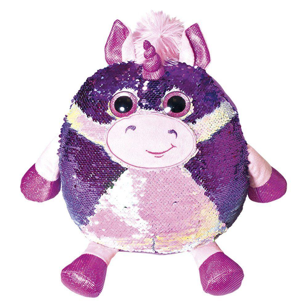 """Мягкая игрушка с паетками Fancy """"Блестяшки"""" единорог Кэлвин (POG01)"""