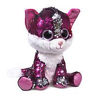 Мягкая игрушка котенок с паетками Fancy (KGL0UPR)