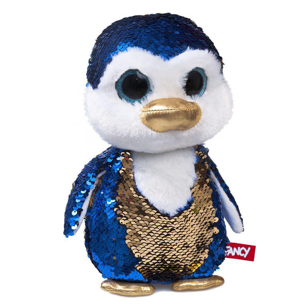 """Мягкая игрушка с паетками Fancy """"Блестяшки"""" пингвинчик Сапфир (GPI0UP)"""