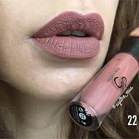 Матовая жидкая помада для губ GOLDEN ROSE LONGSTAY LIQUID MATTE LIPSTICK [22], фото 1