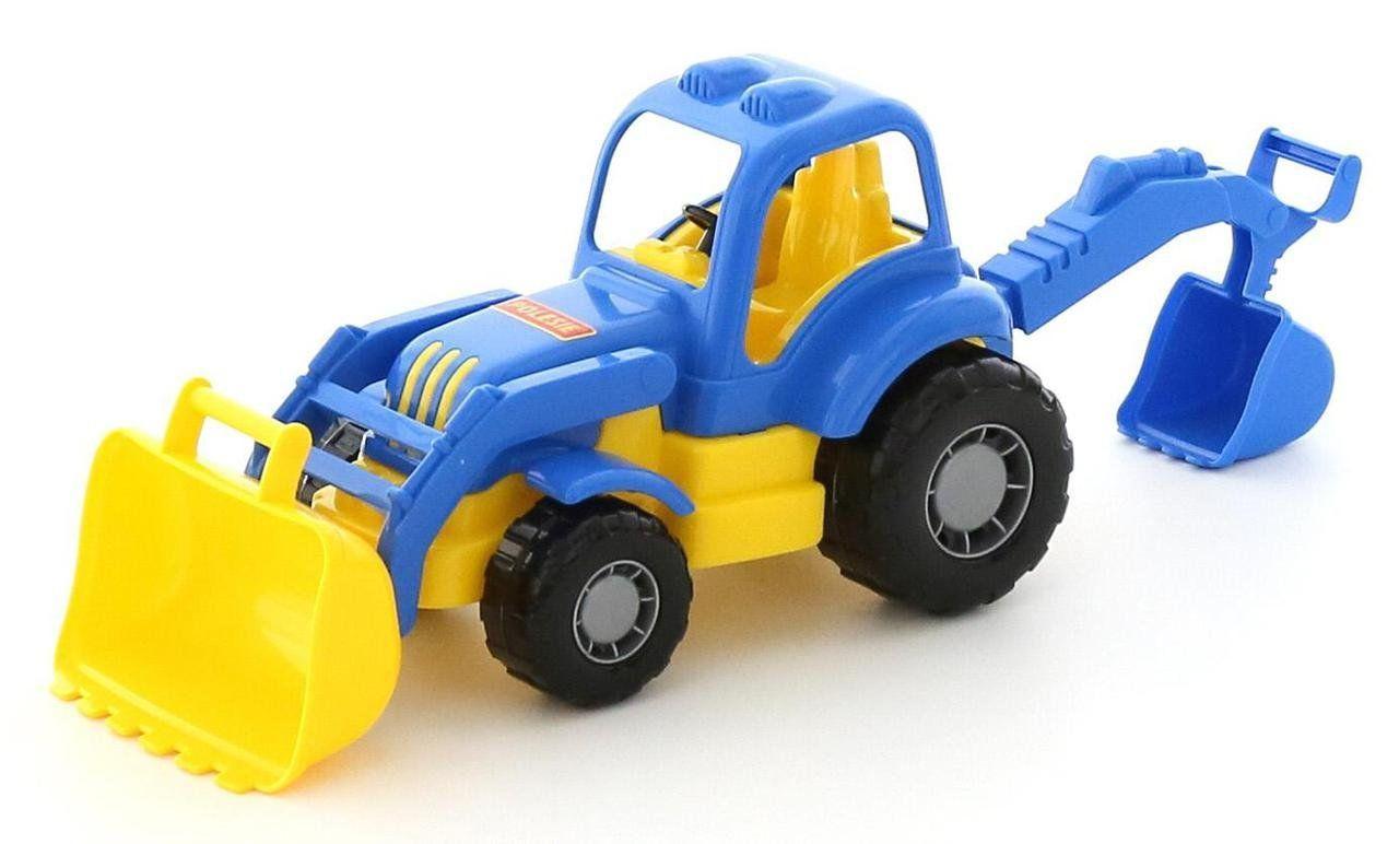 """Игрушка Polesie """"Крепыш"""", трактор-экскаватор (44785)"""