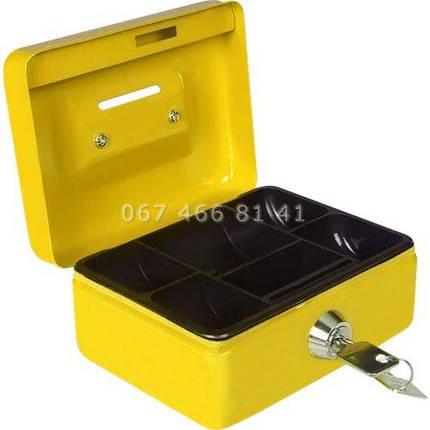TS 0038 кэшбокс желтый, фото 2