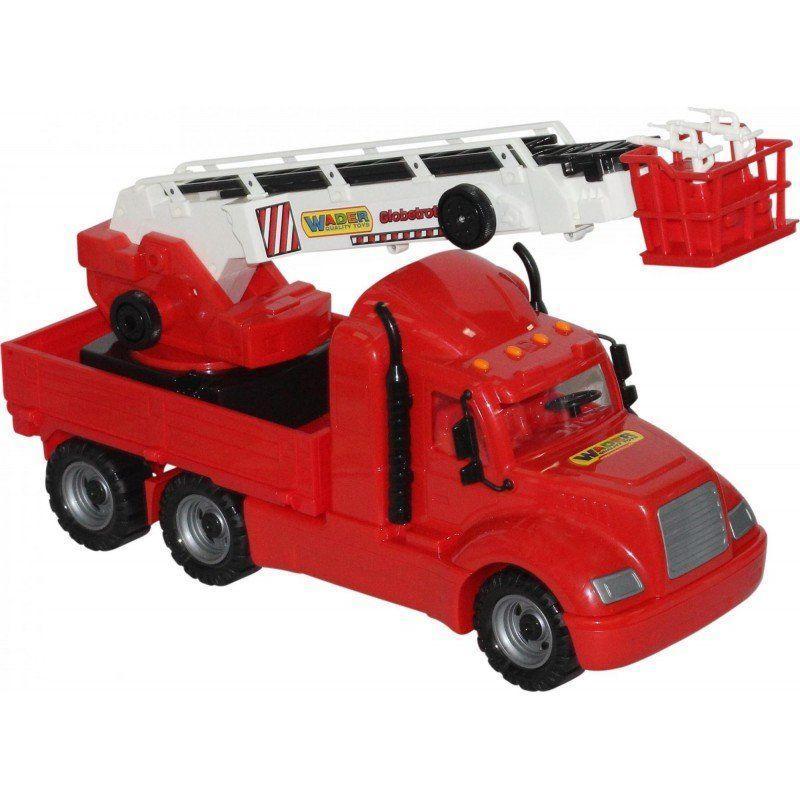 """Игрушка Polesie """"Майкл"""", автомобиль пожарный (в сеточке) (55620)"""