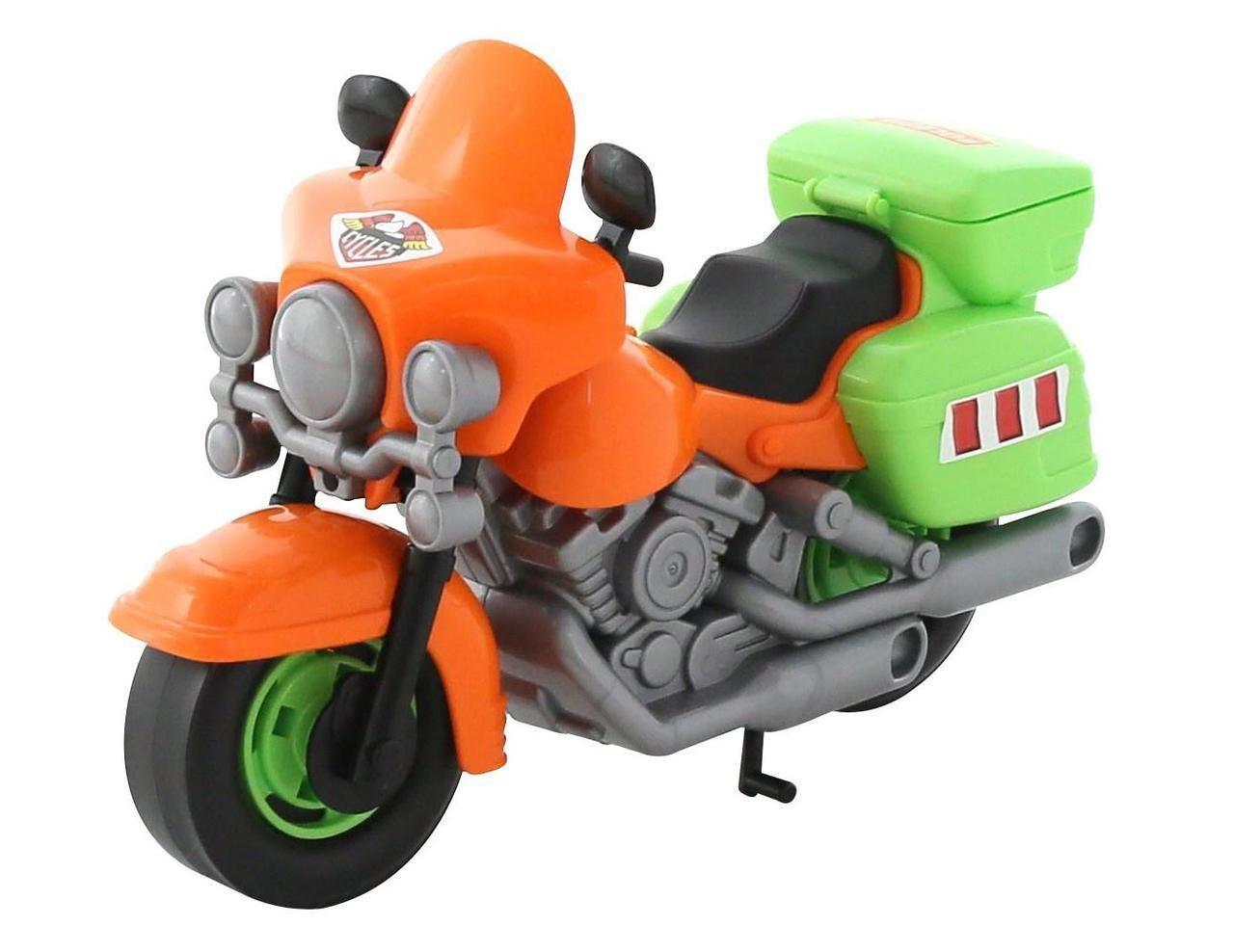 """Игрушка Polesie мотоцикл полицейский """"Харлей"""" оранжевый (8947-2)"""