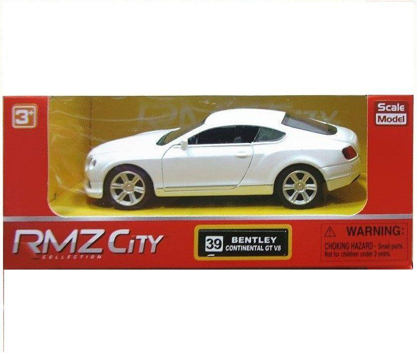 "Игрушка RMZ City Машинка ""Bentley Continental"" белая (554021-1)"