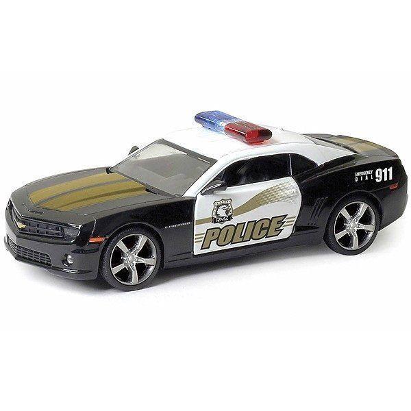 """Машинка металлическая Полицейская """"Chevrolet Camaro"""" (564005P), RMZ City"""