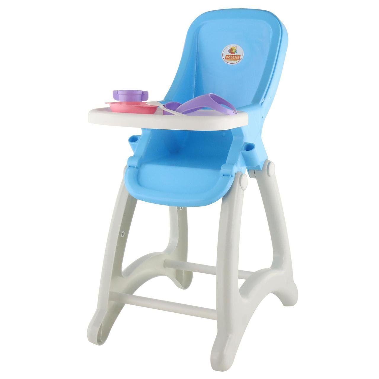 """Игровой набор Polesie стульчик для кукол """"Беби"""" голубой (48004-1)"""