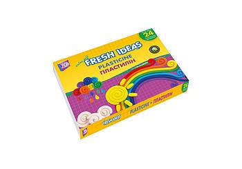 Пластилин 24 цвета 370 г