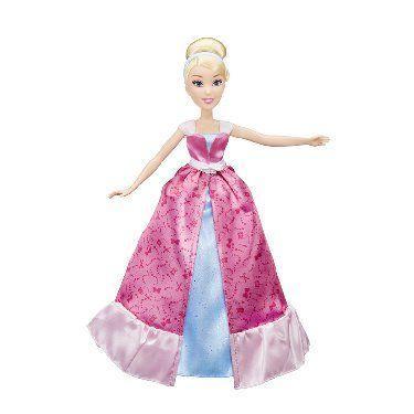 Кукла Hasbro Золушка в роскошном платье-трансформере (C0544)