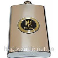 Фляга с набойкой (Герб Украины)