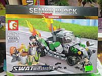 Конструктор для мальчика Sembo Block (260 детали)
