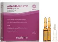 Омолаживающие увлажняющие ампулы с гликолевой кислотой SeSDerma Acglicolic 5*2 мл