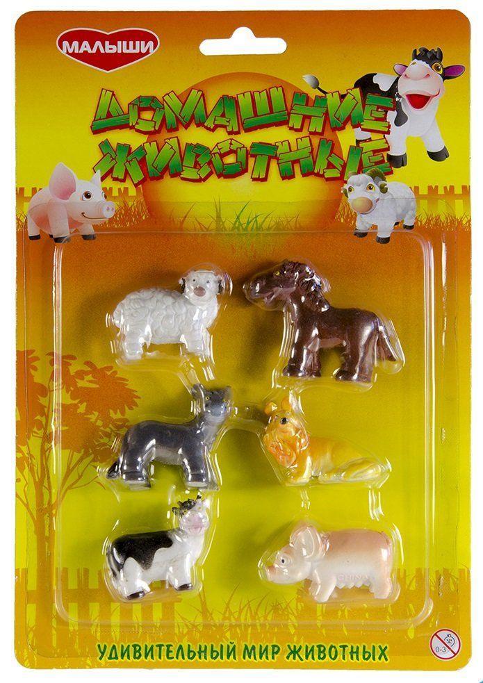 Домашние животные для детей, фигурки Wing Crown (B27005/6)