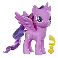 Фигурка Твайлайт Спаркл (Twilight Sparkle), Искорка, MLP ПОНИ 15 см, Hasbro