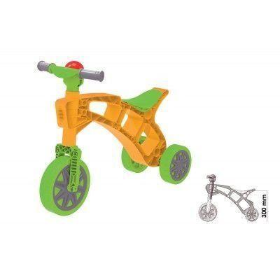 Ролоцикл Technok жёлтый с зеленым (3220-3)