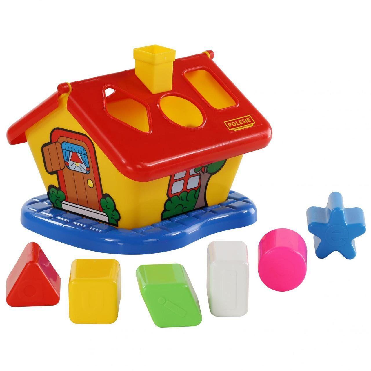 Игрушечный сорте садовый домик красный Polesie (3354-1)