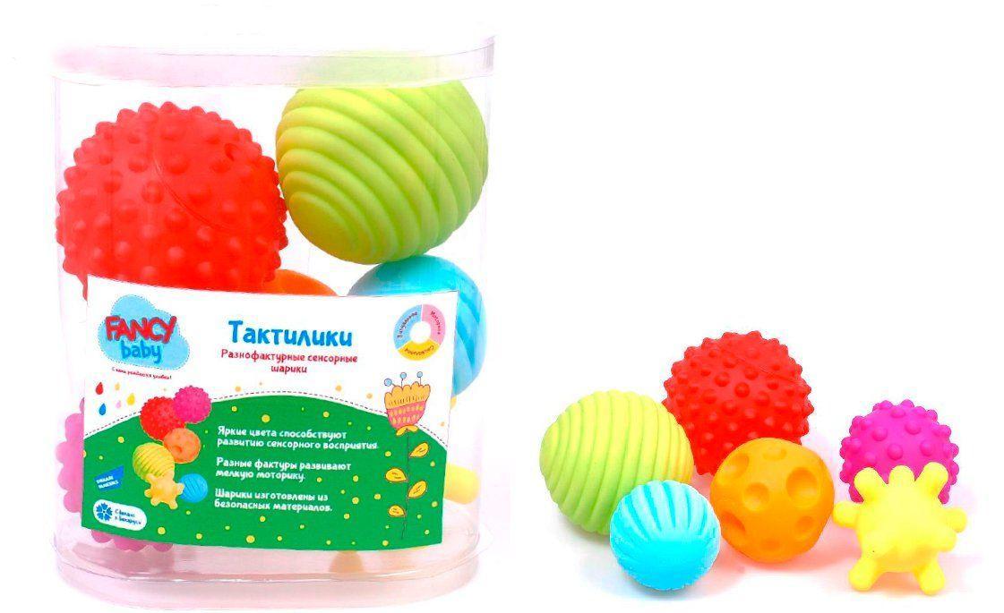 """Развивающая игрушка Fancy """"Тактилики"""" (TIH1)"""