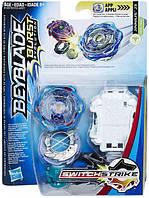 Игровой набор Hasbro Beyblade Волчок Switch Strike и пусковое устройство Bey Sst Jinnius J3 (E0723_E1037)