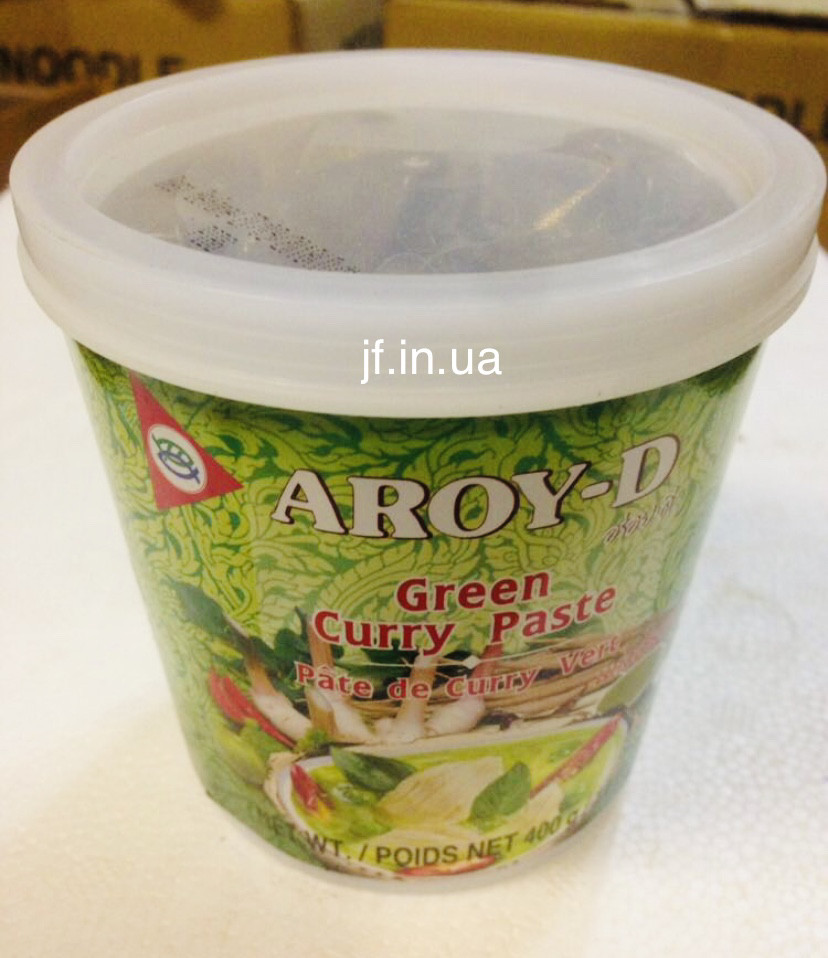 Green curry paste Aroy-D, 400г.