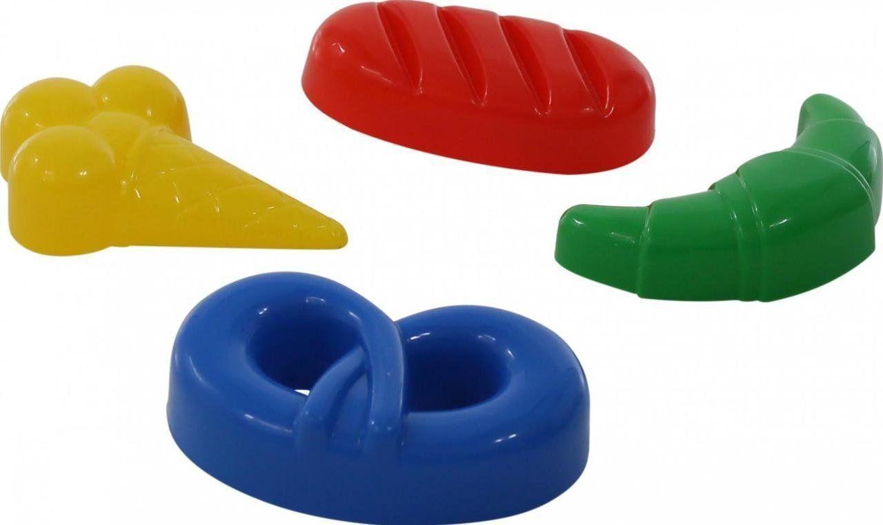 Игровой набор Polesie формочки мороженое + пирожок + крендель + рогалик (39316-2)